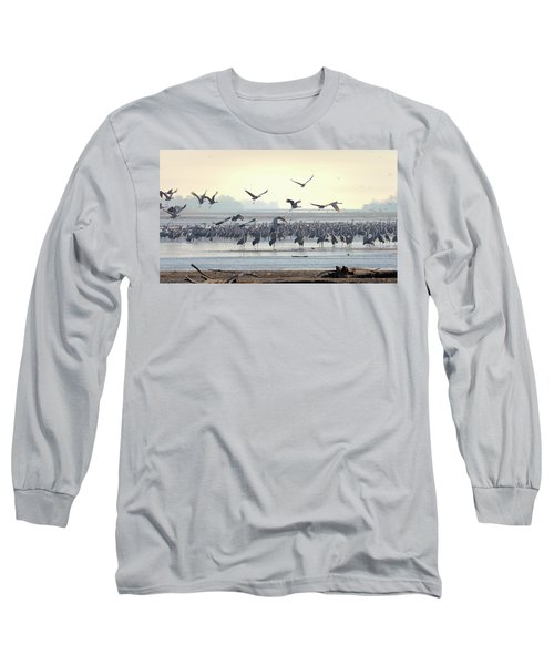 Roosting On The Platte Long Sleeve T-Shirt