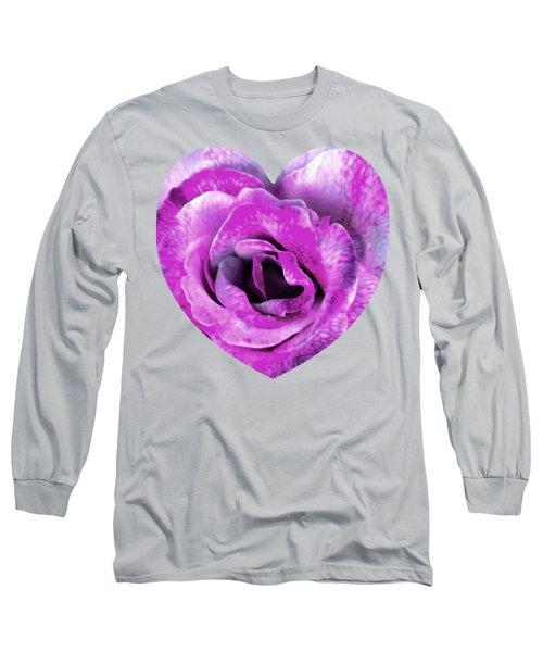 Rose Nepenthe Heart Long Sleeve T-Shirt