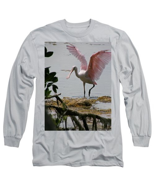 Roseate Wave Long Sleeve T-Shirt