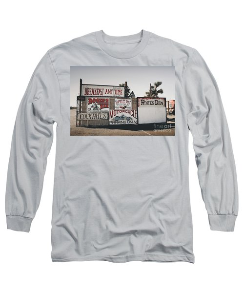 Rosies Den Cafe Long Sleeve T-Shirt