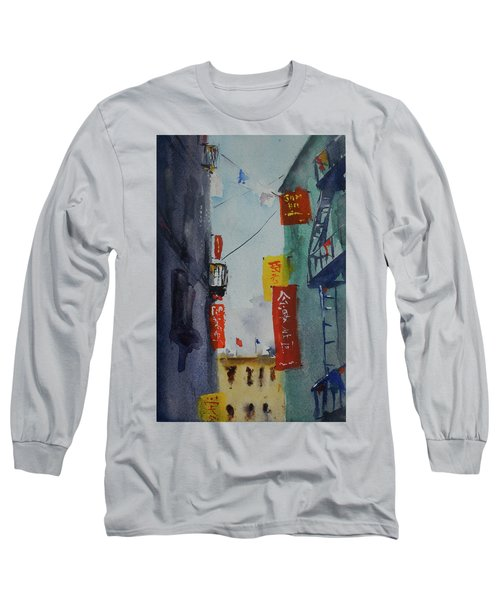 Ross Alley6 Long Sleeve T-Shirt by Tom Simmons