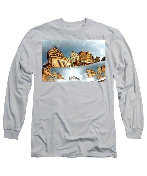 Long Sleeve T-Shirt featuring the photograph Rotenburg In A Tuba by KG Thienemann