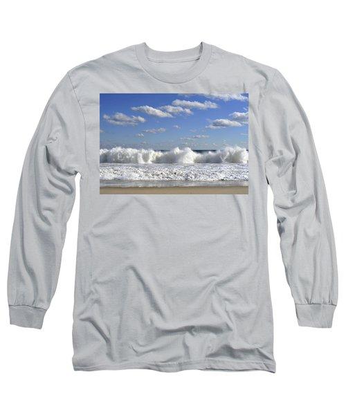 Rough Surf Jersey Shore  Long Sleeve T-Shirt
