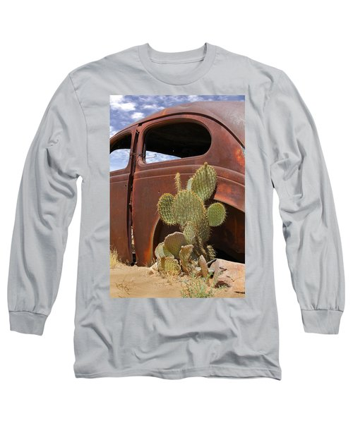 Route 66 Cactus Long Sleeve T-Shirt