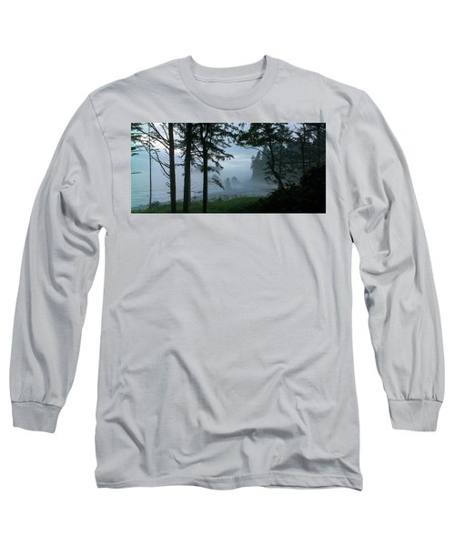 Ruby Beach II Washington State Long Sleeve T-Shirt