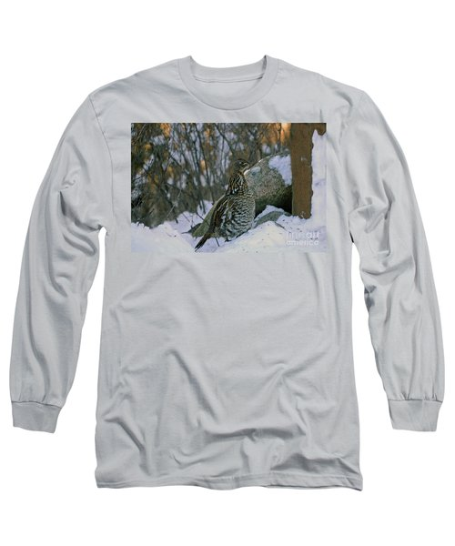 Ruffed Grouse Long Sleeve T-Shirt