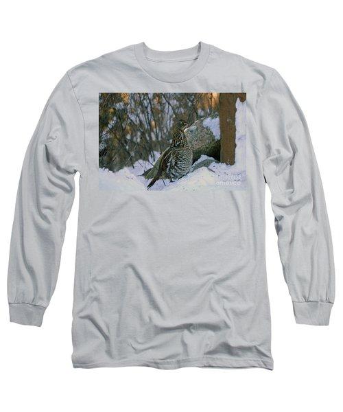 Ruffed Grouse Long Sleeve T-Shirt