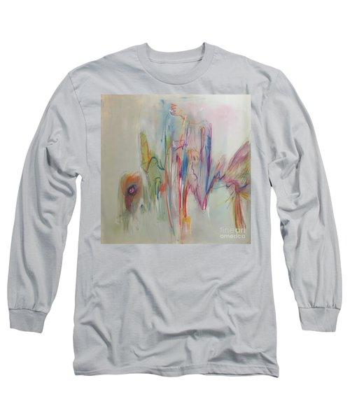 Ruffled Long Sleeve T-Shirt