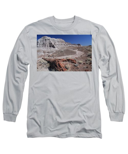 Runoff Obstacle Long Sleeve T-Shirt by Gary Kaylor