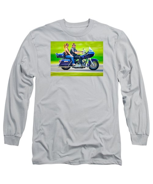 Long Sleeve T-Shirt featuring the photograph Rural Ride 2 by Brian Stevens