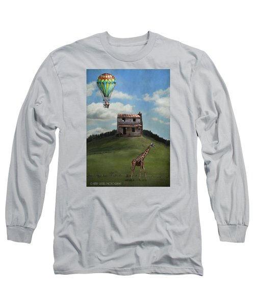 Rural World Long Sleeve T-Shirt by Kathy Russell