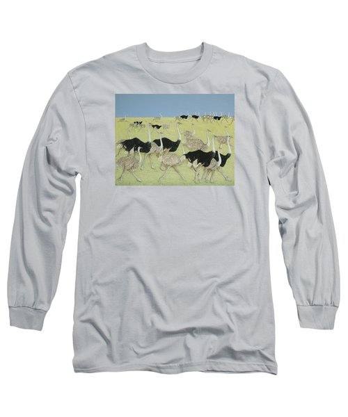 Rush Hour Long Sleeve T-Shirt by Pat Scott