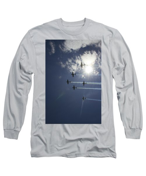 Long Sleeve T-Shirt featuring the photograph Russian Roolettes And Sydney Sun by Miroslava Jurcik