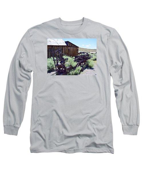 Rust Sleeps Long Sleeve T-Shirt