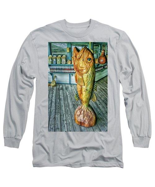 Rustic Fish Long Sleeve T-Shirt
