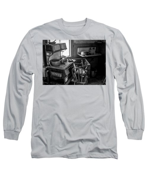 Rusting Pots And Pans, Bodie Ghost Town Long Sleeve T-Shirt
