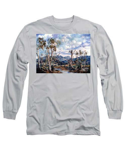 Rwetyepme, Mount Sonda Central Australia Long Sleeve T-Shirt