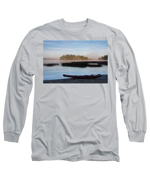 Sabao Morning Long Sleeve T-Shirt by Brent L Ander