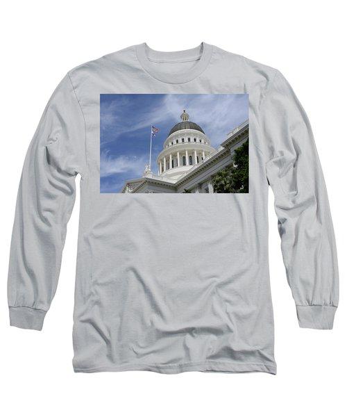 Sacramento Capitol Building Long Sleeve T-Shirt