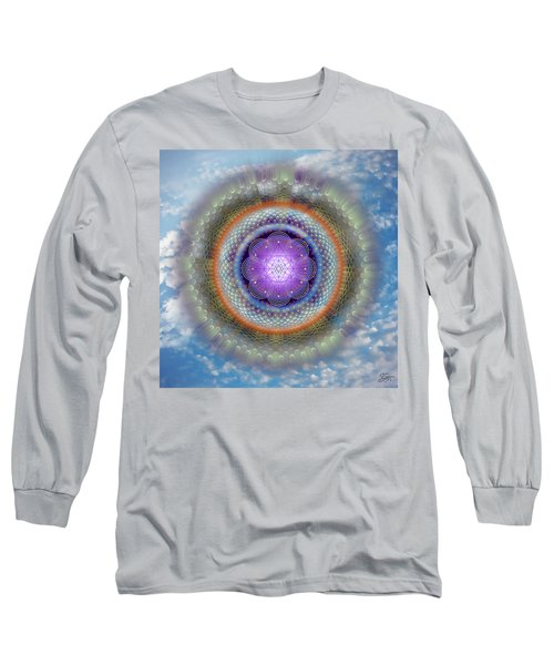 Sacred Geometry 716 Long Sleeve T-Shirt