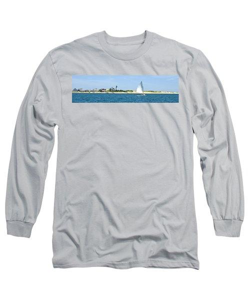 Sailing Around Barnstable Harbor Long Sleeve T-Shirt