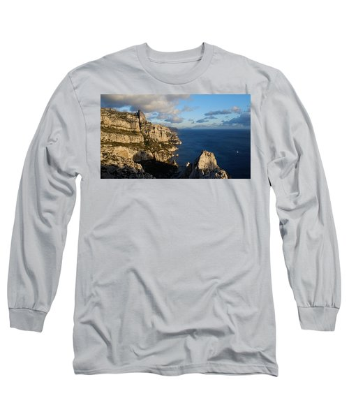 Long Sleeve T-Shirt featuring the photograph Sailing by August Timmermans
