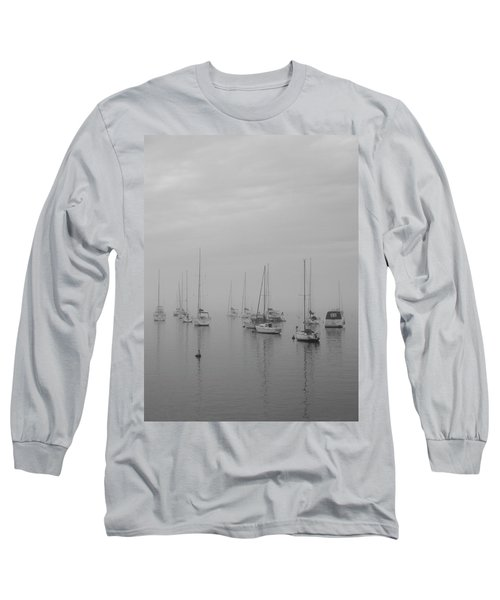 Sailing Bw Long Sleeve T-Shirt