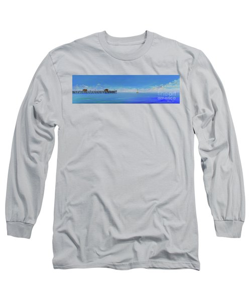 Sailing By San Clemente Long Sleeve T-Shirt