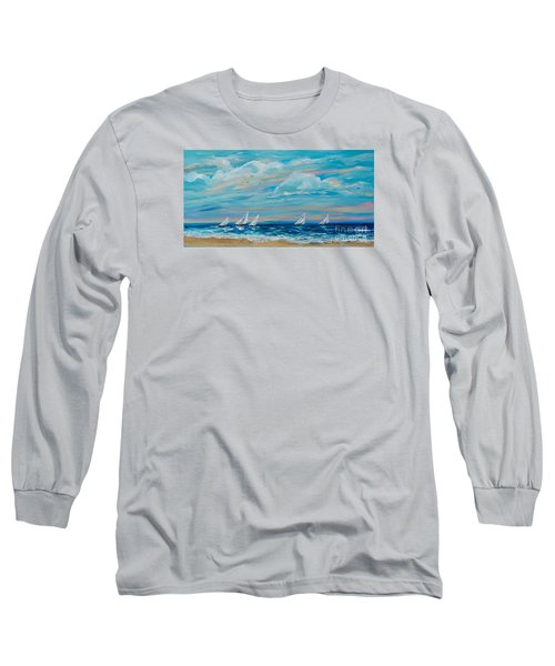 Sailing Close To The Shore Long Sleeve T-Shirt