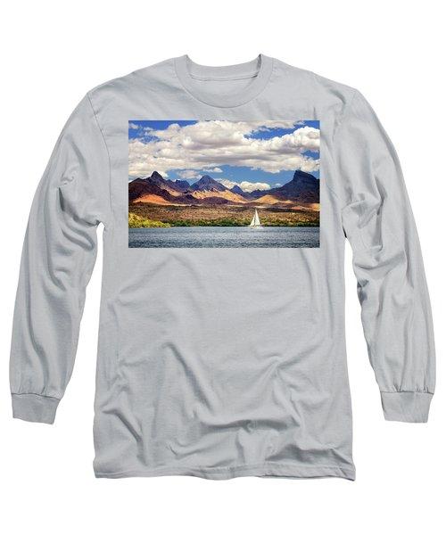 Sailing In Havasu Long Sleeve T-Shirt