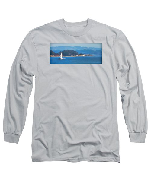 Sailing On The Monterey Bay Long Sleeve T-Shirt