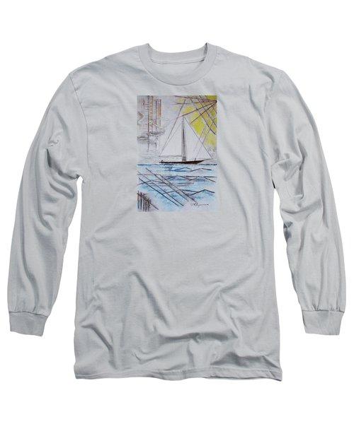 Sailors Delight Long Sleeve T-Shirt by J R Seymour