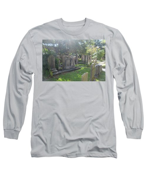 Saint Phillips Cemetery 4 Long Sleeve T-Shirt by Gordon Mooneyhan