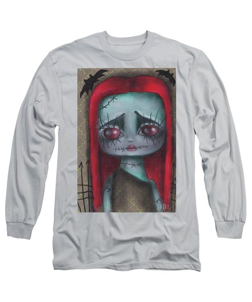 Sally Girl Long Sleeve T-Shirt by Abril Andrade Griffith