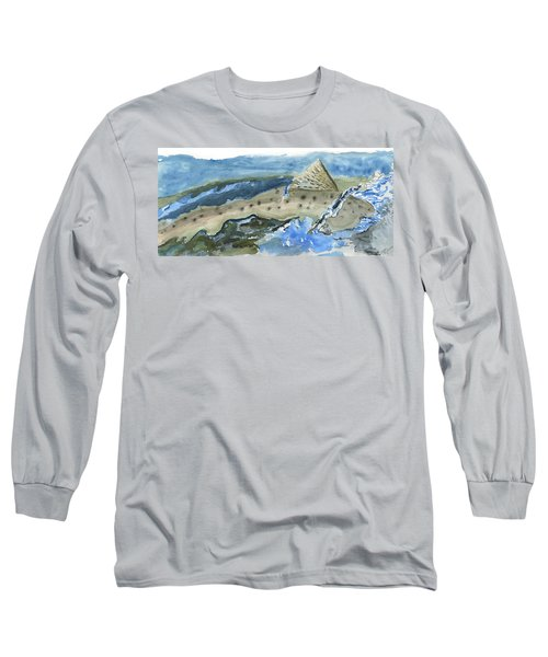 Salmon Surface Long Sleeve T-Shirt