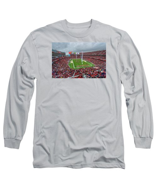 San Francisco 49ers Levi's Stadium Long Sleeve T-Shirt