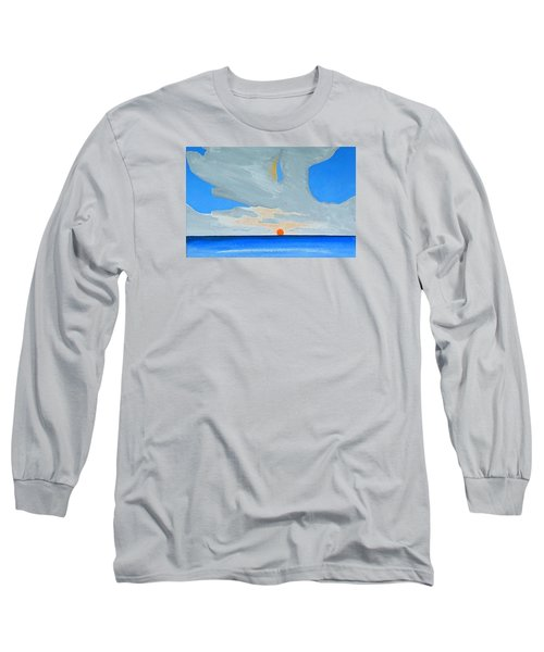 San Juan Sunrise Long Sleeve T-Shirt by Dick Sauer