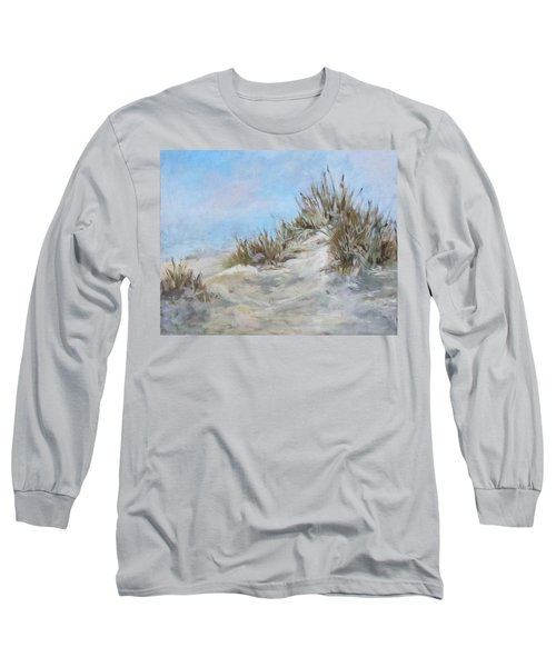 Sand Dunes And Salty Air Long Sleeve T-Shirt by Barbara O'Toole