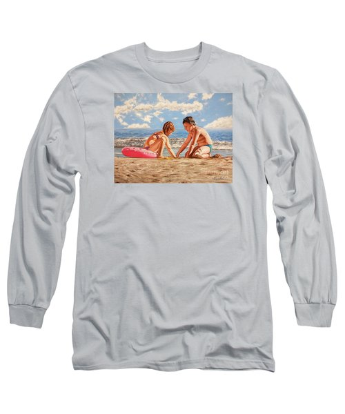Sand Grains - Granos De Arena Long Sleeve T-Shirt