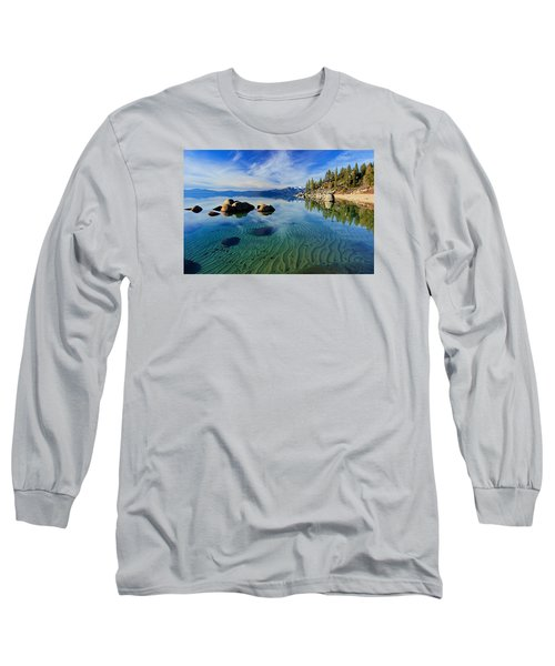 Sands Of Time 2 Long Sleeve T-Shirt by Sean Sarsfield