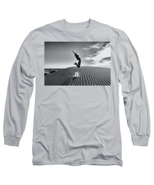 Sandy Dune Nude - The Jump Long Sleeve T-Shirt