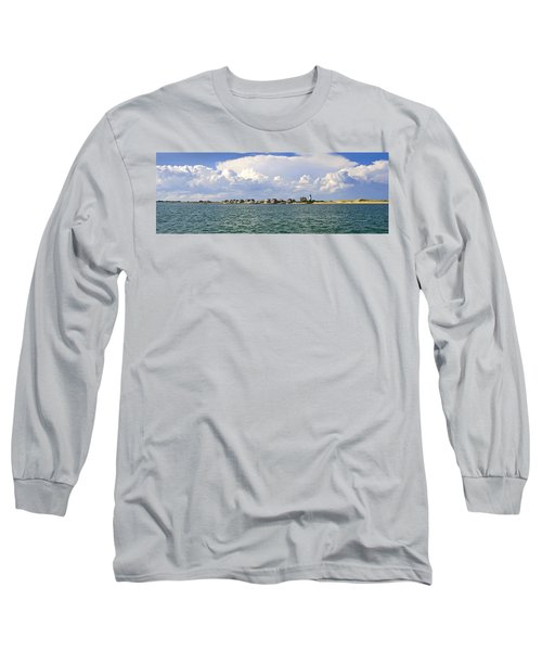 Sandy Neck Cottage Colony Long Sleeve T-Shirt by Charles Harden