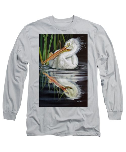 Sandy's Pelican Long Sleeve T-Shirt