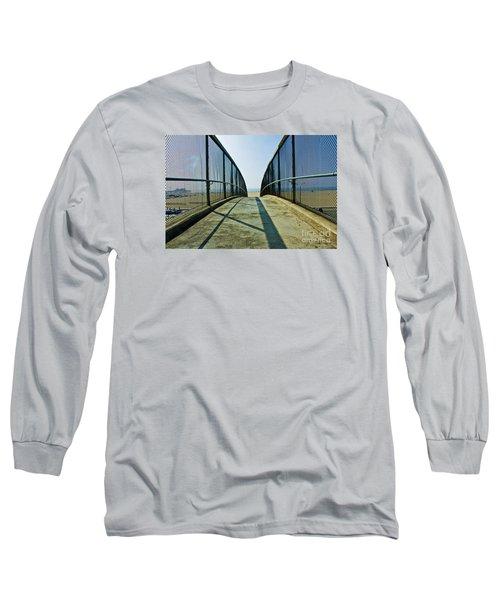 Santa Monica Beach California Long Sleeve T-Shirt