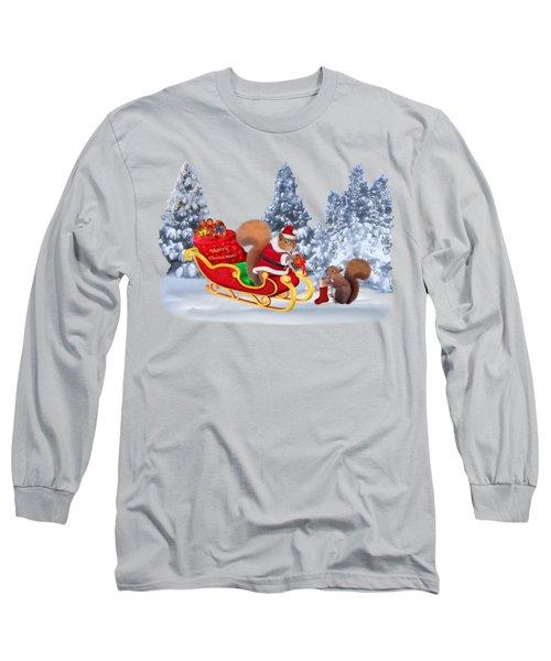 Santa's Little Helper Long Sleeve T-Shirt