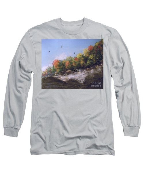 Soaring Over The North Rim, Autumn Long Sleeve T-Shirt