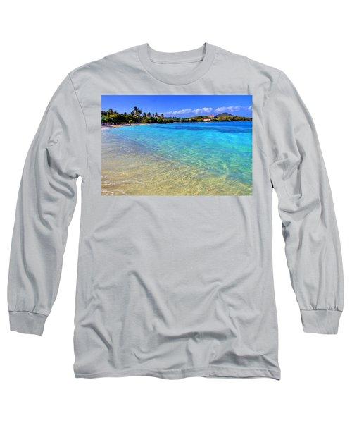 Sapphire Glow Long Sleeve T-Shirt by Scott Mahon