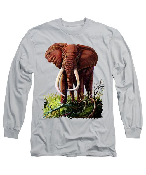 Satao II - The Elephant Long Sleeve T-Shirt