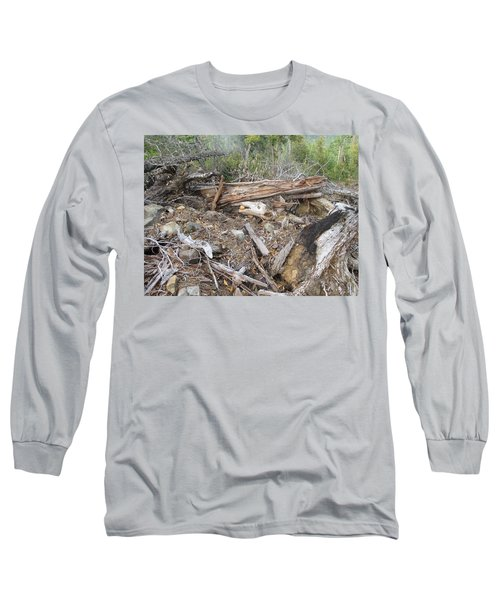 Long Sleeve T-Shirt featuring the photograph Save The Last Bite For Me by Marie Neder
