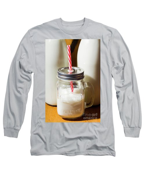 Scenes From The Age Old Milkbar Long Sleeve T-Shirt